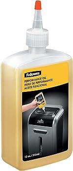 Fellowes Powershred Performance Oil Bottle 12 oz.