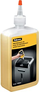 product image for Fellowes 35250 Powershred Performance Oil, 12 oz. Bottle w/Extension Nozzle