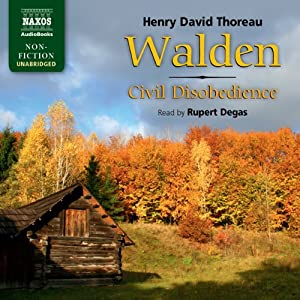 Thoreau: Walden / Civil Disobedience (Unabridged) Audiobook