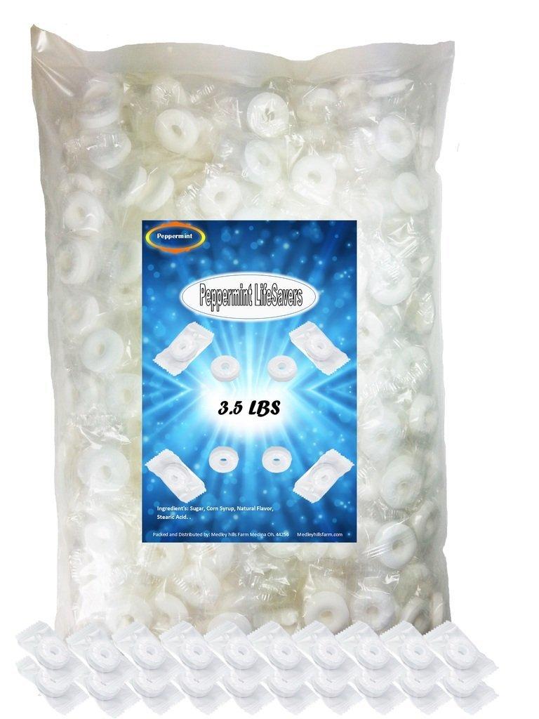 LifeSavers Peppermint 3.5 lbs of Pep O Mint Hard Candies