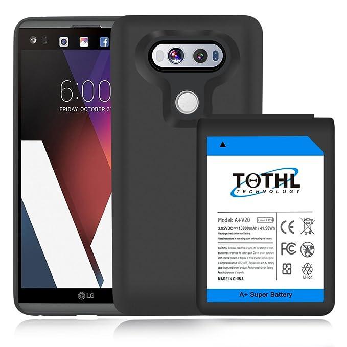 Amazon Com Lg V20 Extended Battery Tqthl 10800mah Extended