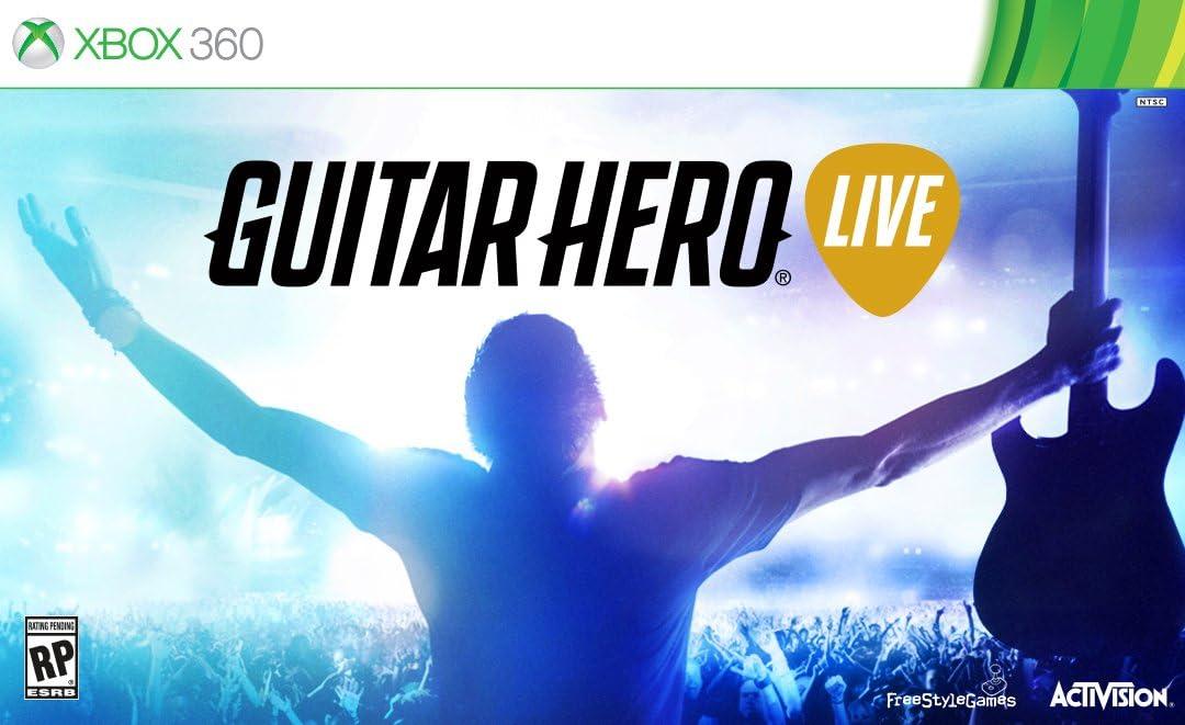 Amazon com: Guitar Hero Live - Xbox 360: Activision Inc: Video Games