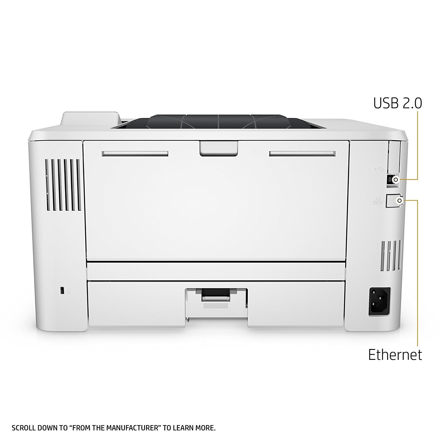 HP LaserJet Pro M402n Laser Printer with Built-in Ethernet, Amazon Dash Replenishment ready (C5F93A) by HP (Image #8)