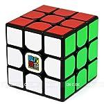 Cubo Mágico Profissional 3x3x3 Preto Adesivado Speedcubing