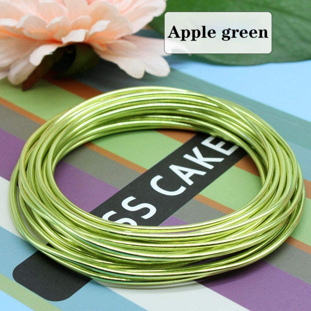 KOERIM Bonsai Training Wire Anodized Aluminum,5M//Rolls Tree Training Wires for Bonsai Tree,1mm//2mm//3mm