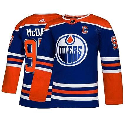 the latest be811 63631 Amazon.com : adidas Connor McDavid Edmonton Oilers NHL Men's ...