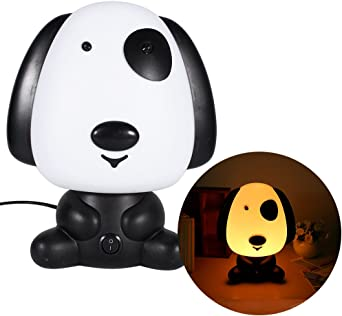 Lampe veilleuse pour enfants LED lumi/ère blanche chaude ABS plastique pour chambre bureau cadeau de No/ël Panda
