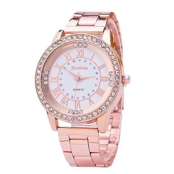 bwatch Mujeres Reloj con cristales diseño