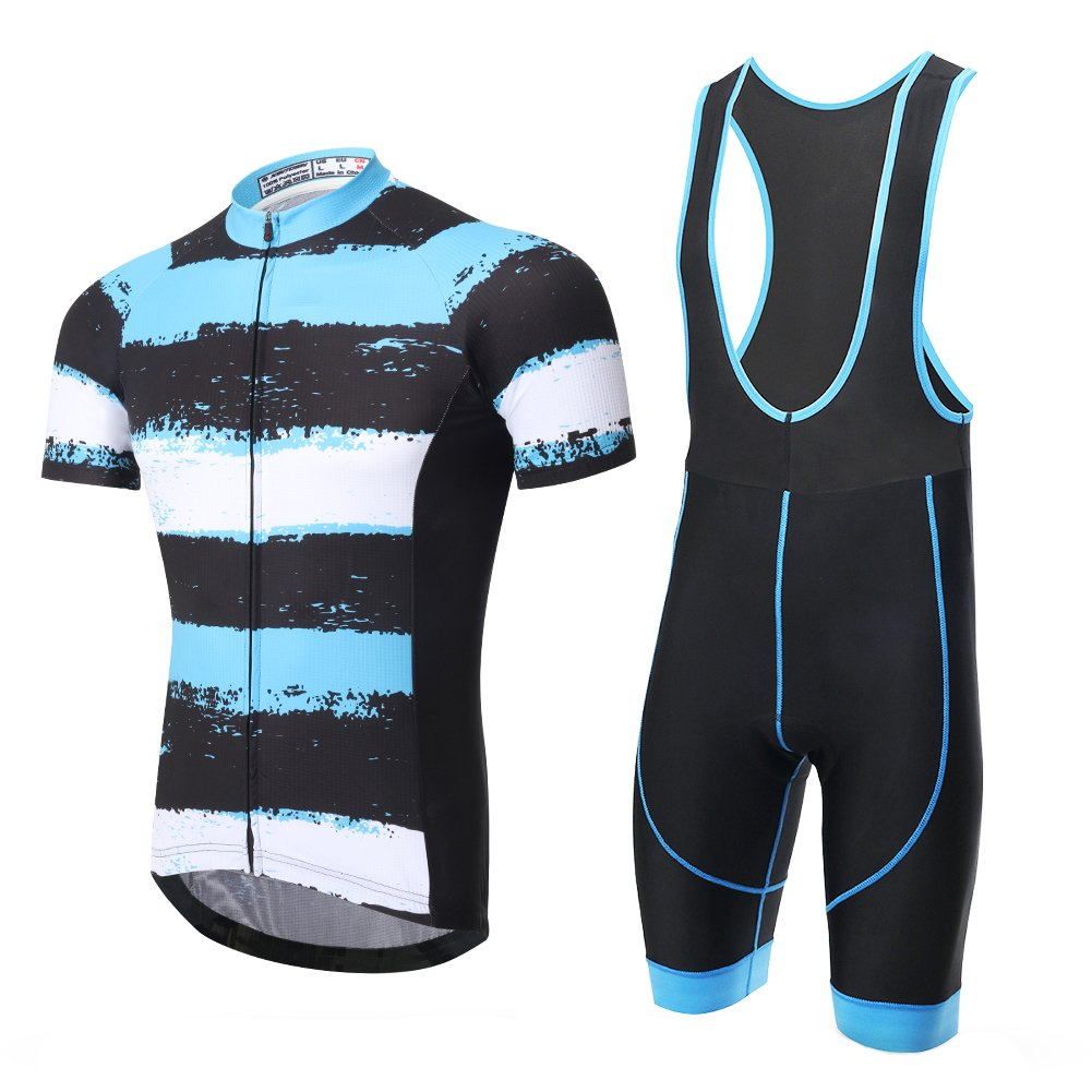 Spoz Compression Cycling Jersey & Pad Bid Shorts Set S by Cycling Women Short Suit