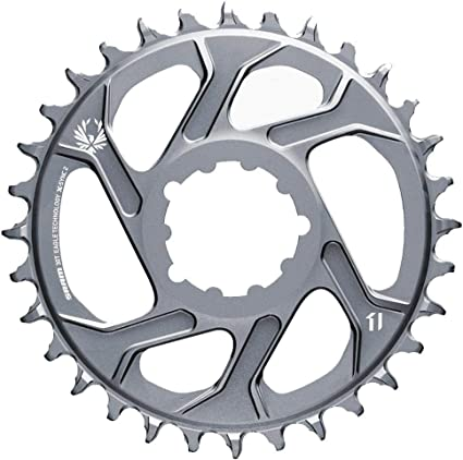 Sram X-SYNC 2 Eagle X01 12 spd Direct Mount 38T Chainring 3mm Offset Boost Black
