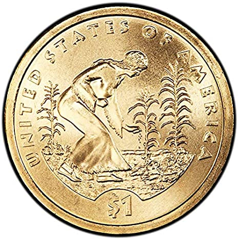 2009 P Sacagawea Three Sisters Native American Indian Dollar Coins U.S Mint
