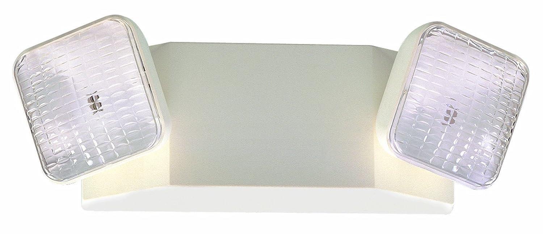 Royal Pacific REL1WH-E Two Head Emergency Light, White Royal Pacific Lighting Inc