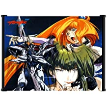 Teknoman Anime Fabric Wall Scroll Poster (38x32) Inches.[WP]-Teknoman-18(L)