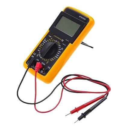 Review DT-920LCD Digital Multimeter Voltmeter