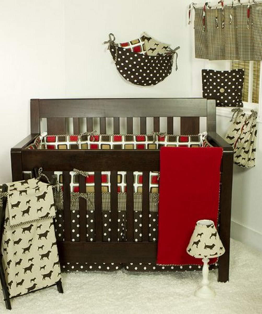 Amazon Com Cotton Tale Designs 8 Piece Crib Bedding Set Houndstooth Baby