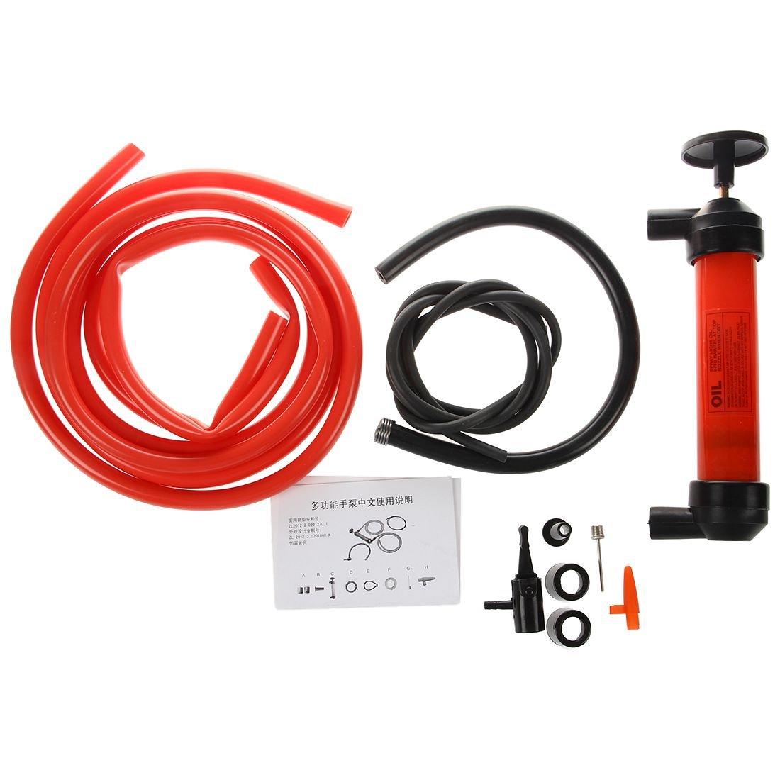 Toogoo Car Water Oil Fuel Change Transfer Gas Liquid Pipe Siphon Tool Air Pump Kit by Toogoo (Image #1)