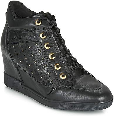 Geox D Carum C, Sneakers Basses Femme