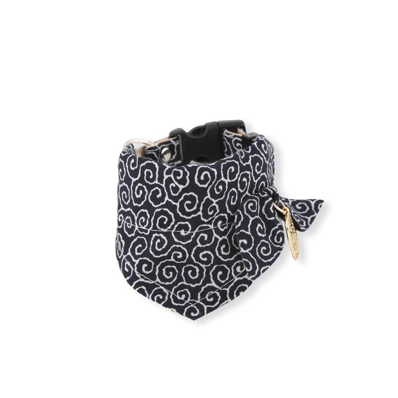 Necoichi Ninja Bow Tie Dog Bandana Collar