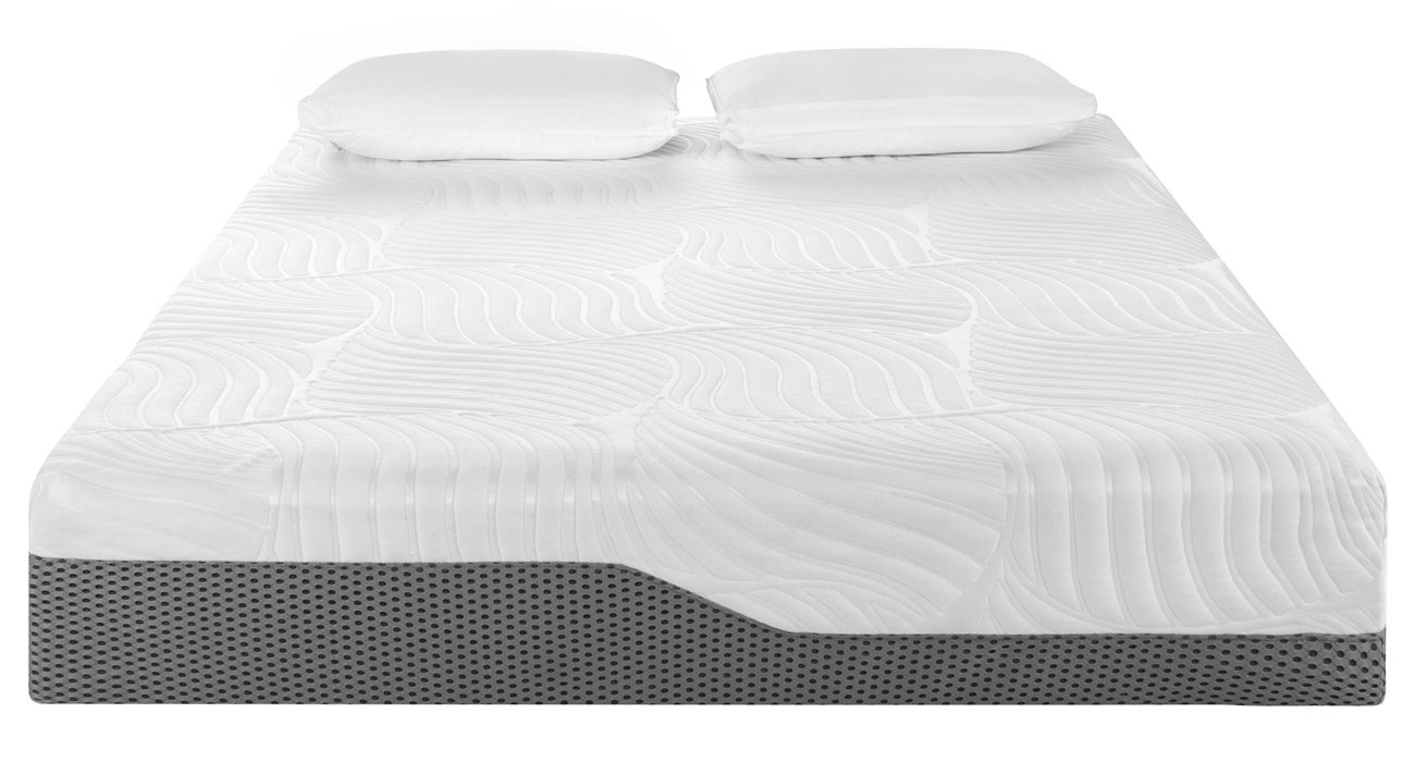 Voila Box Luxury Hybrid Coil-Spring Latex Mattress, Gel-infused Memory Foam  + Coils + Latex + Triple Edge Support + Breathable Cool Sleep Technology,  ...