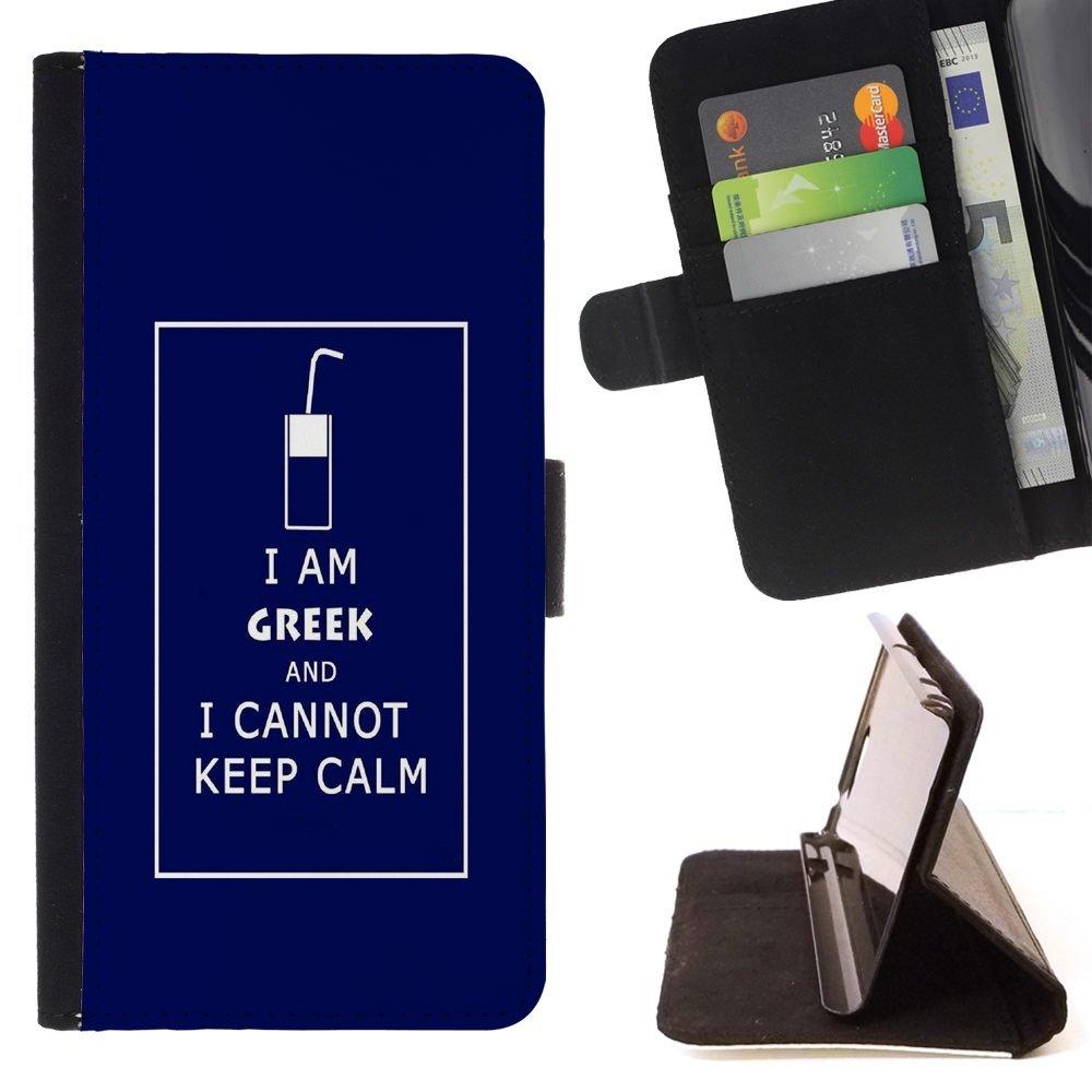 For Samsung Galaxy A3 Case , Friki divertido guarda calma ...