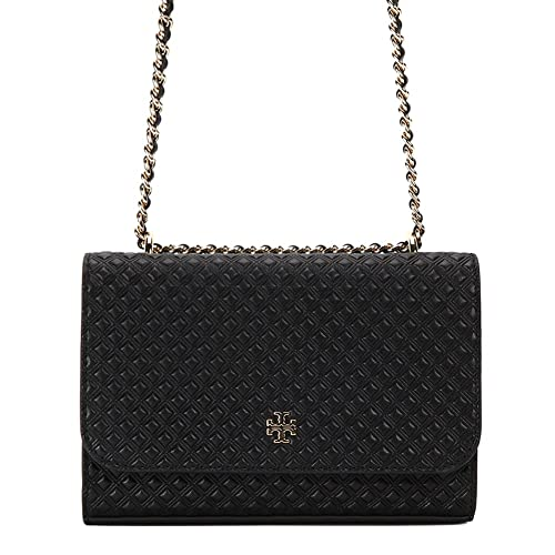 2cc6cda919d Tory Burch Marion Embossed Shrunken Shoulder Bag 33406-001 Black One Size   Amazon.ca  Shoes   Handbags