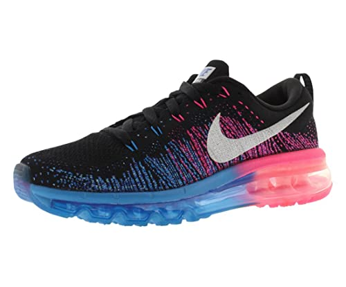 quality design 2ac24 988f5 ... top quality nike flyknit air max womens running trainers 620659  sneakers shoes us 5.5 aluminium black