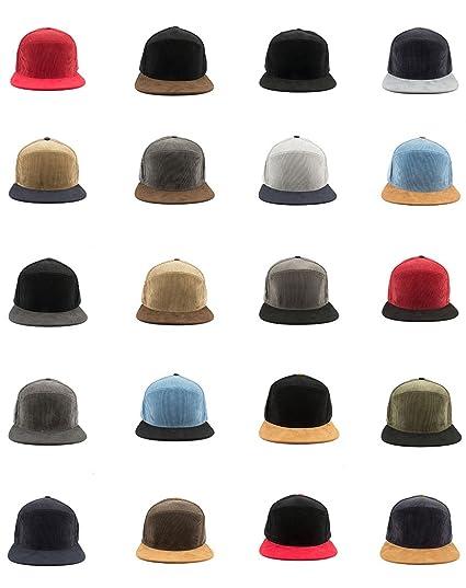 e06e2796106 ... coupon code vintage corduroy suede flat bill brim snapback baseball cap  blank plain hat beige d