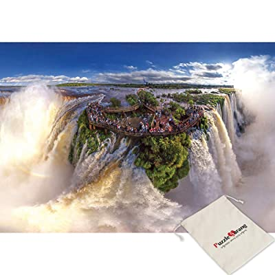 Bien, Iguazu Falls - 1000 Piece Jigsaw Puzzle [Pouch Included]: Toys & Games