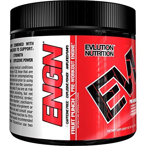 Evlution Nutrition Caffeine Free Pre Workout Pikatropin Free