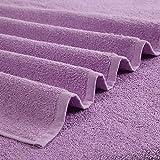 Utica Solid Color 6 Piece Pack, 6pc Towel Set, Purple