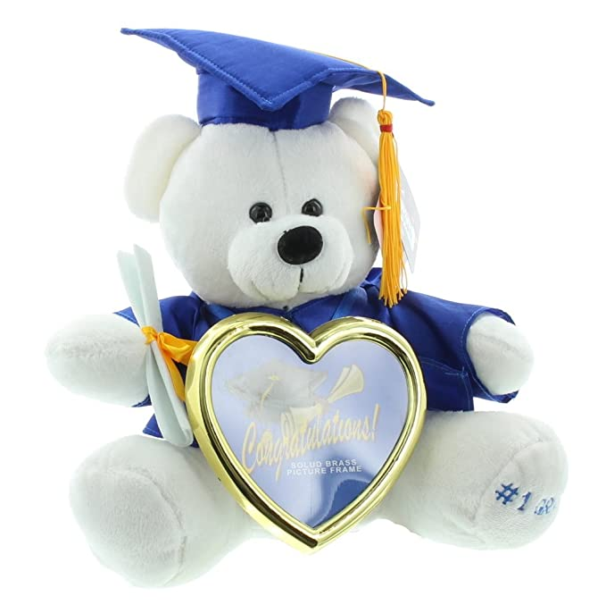 Graduation Photo Frame Teddy Bear at Amazon Men\'s Clothing store: