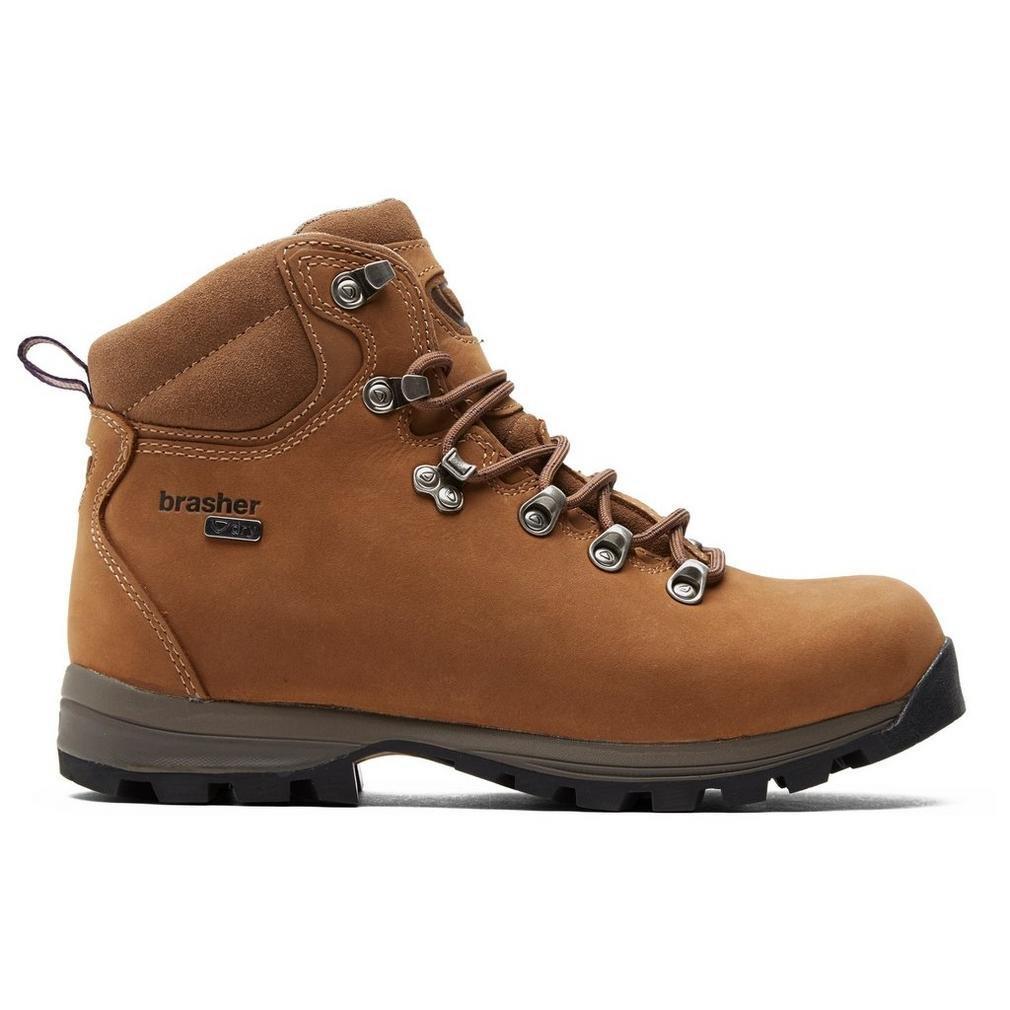 Brasher Braun Damenschuhe Country Walker Stiefel Outdoor Schuhe Schuh Braun, Braun, 38