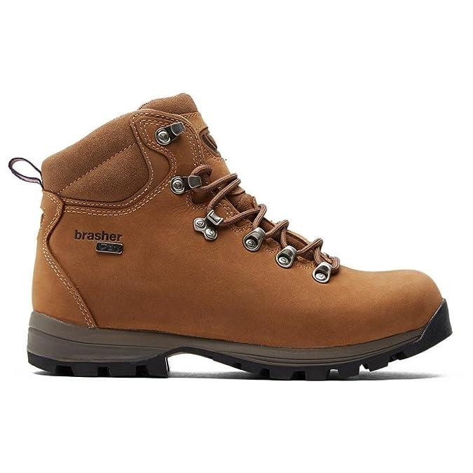 Brasher Brown Womens Country Walker Boot Chaussures de Sport en Plein air Marron, Marron, 38