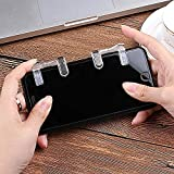 SaleOn PUBG Phone Gamepad Metal Trigger Button Aim Key Smart Phone Mobile Games L1R1 Shooter Controller-788