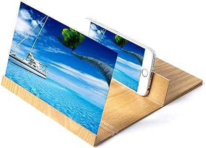 Lupa Para Móvil pantalla Smartphone Soporte 3D Video HD ...