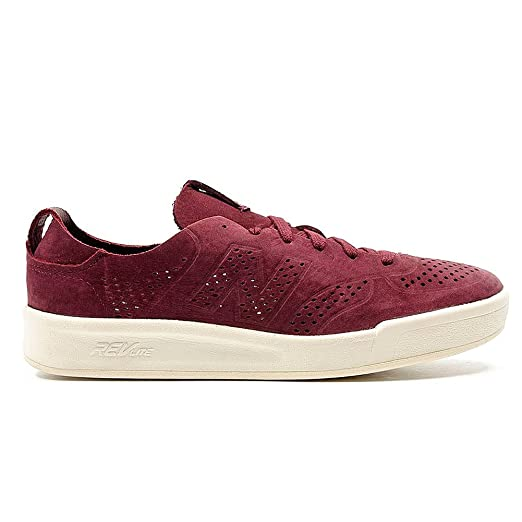 : New Balance Crt 300 Mens Sneakers Maroon: Clothing