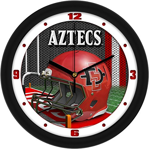 NCAA San Diego State Aztecs Helmet Wall Clock by SunTime