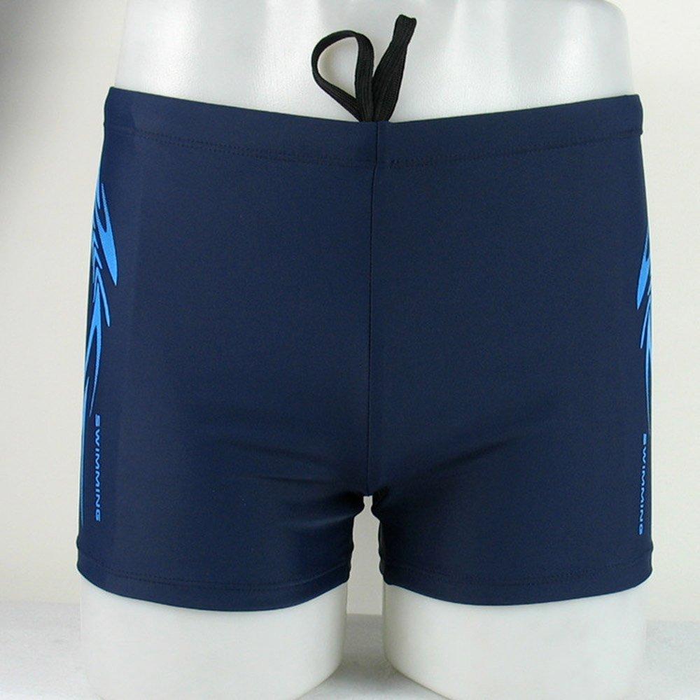 Yagao Mens Swim Shorts Swimsuit Man Swimming Trunks Swim Briefs Breathable Swimwear Men Boxer Board Shorts