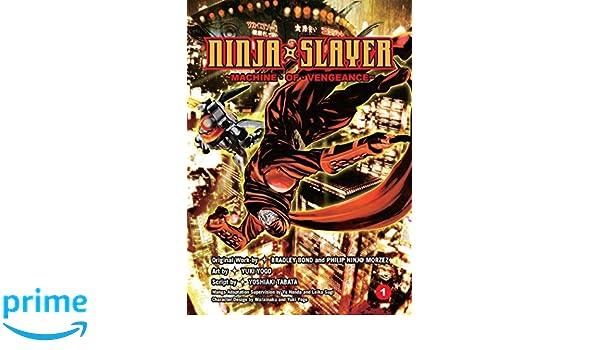 Ninja Slayer Vol. 1: Amazon.es: Bradley Bond, Phillip N ...
