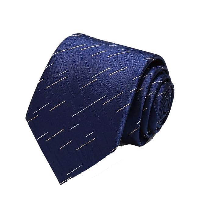 XXSZKAA-tie Corbata Man/Azul Irregular Estrella Patrón Corbata ...