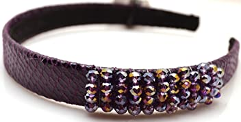 Style & Co. Headband Fashion Accessorie Purple Beads