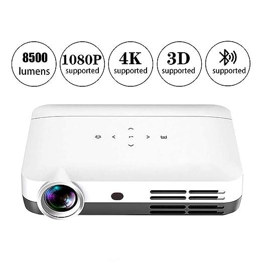 Proyector Mini Video Proyector Portátil Proyector DLP 8500 Lumen ...