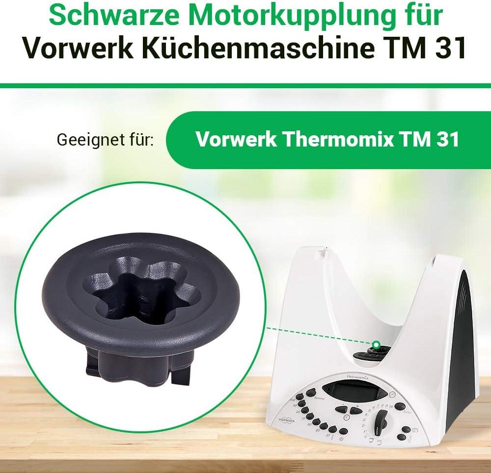 Thermomix Vorwerk TM31 replacement clutch coupler accessories spare parts TM 31: Amazon.es: Hogar