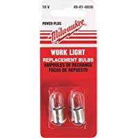 Milwaukee 49-81-0030, Worklight Bulbs 18Volt (2 Pack)