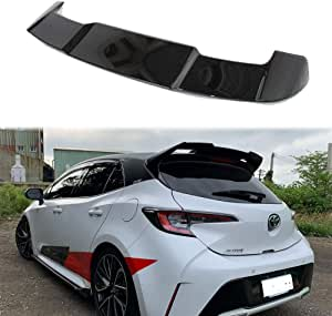 EZSHOP Compatible with Toyota Corolla Hatchback 2020-2021 ABS Rear Tailgate Middle Spoiler Wing