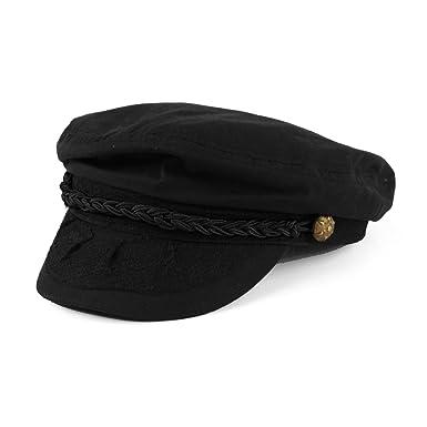 4bdae025b9c Men s Summer Cotton Greek Fisherman Sailor Fiddler Driver Hat Flat Cap ...