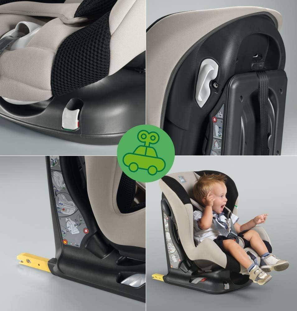 beige//negro Silla de coche grupo 1 Isofix CAM Il mondo del bambino