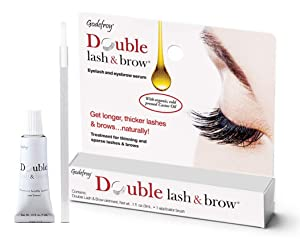 Godefroy Double Lash and Brow Treatment, for longer & thicker eyelash and eyebrows (3ml + applicator)