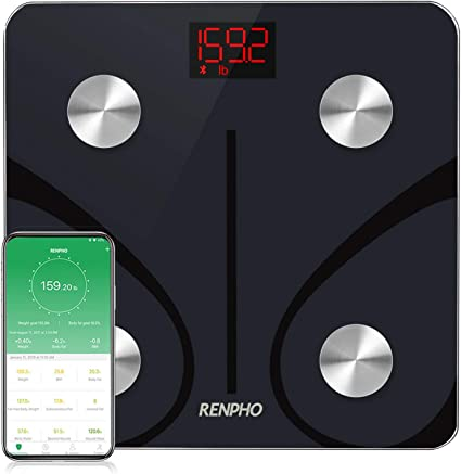 Amazon.com: RENPHO - Báscula de grasa corporal con Bluetooth ...