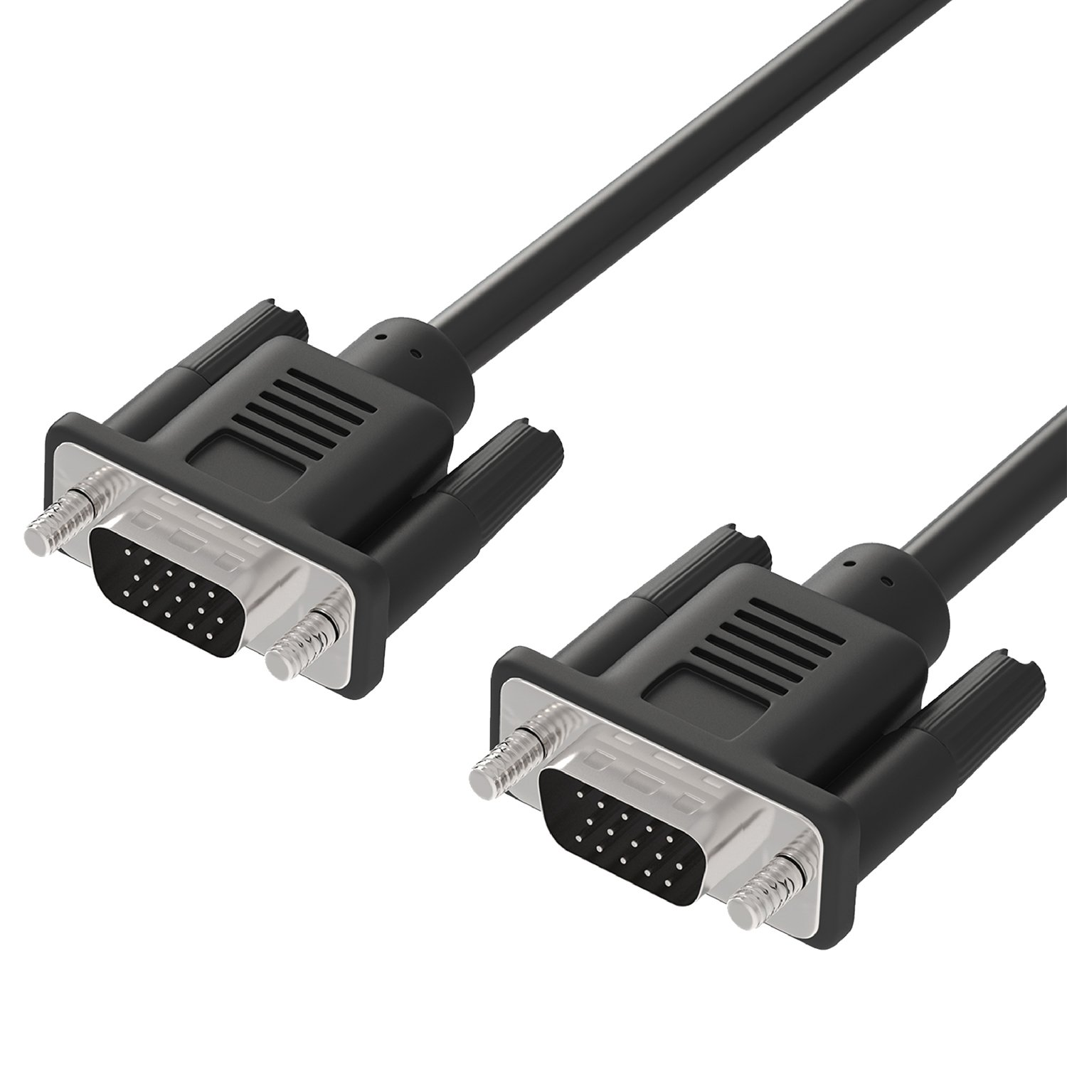 Fosmon High Resolution Monitor Cable (Male VGA to Male VGA) -10ft HD1848